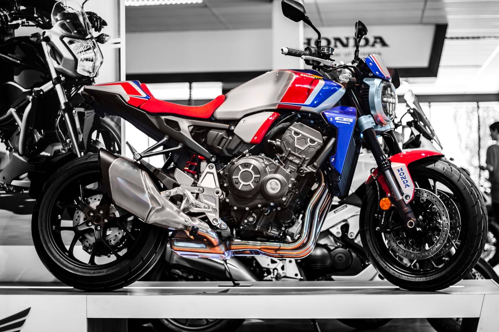 CB1000R TKE Showroom