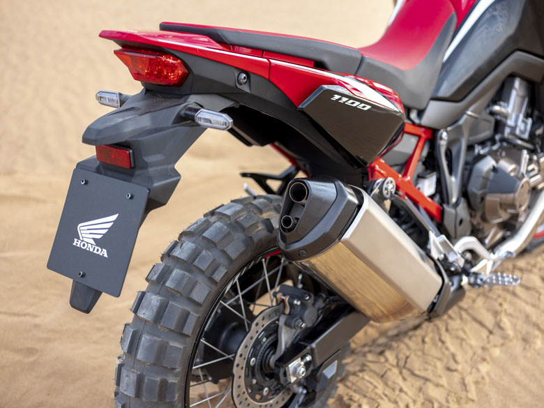 CRF Exhaust