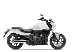 Honda CTX700N Pearl Fadeless White|Honda CTX700N Darkness Black Metallic|