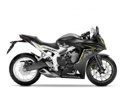 Honda CBR650F Matt Gunpowder Black (Metallic/White SE)|Honda CBF650F Graphite Black|Honda CBR650F Matt Gunpowder Black (Metallic/Red SE)|
